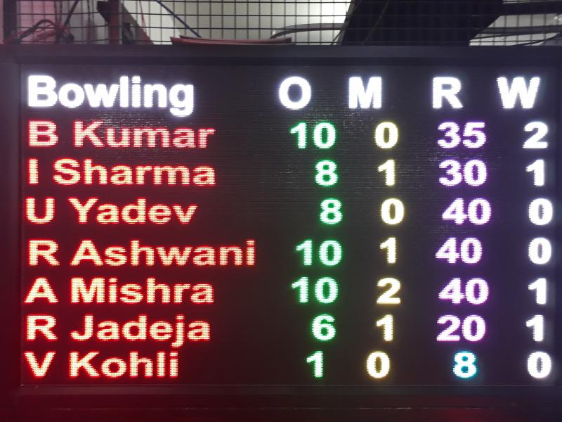 LED Cricket scoreboards. LED Scoreboards manufacturer Delhi, India. Jalandhar