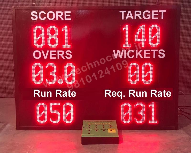 LED cricket Scoreboards manufactured in New Delhi India, LED scoreboards Jammu