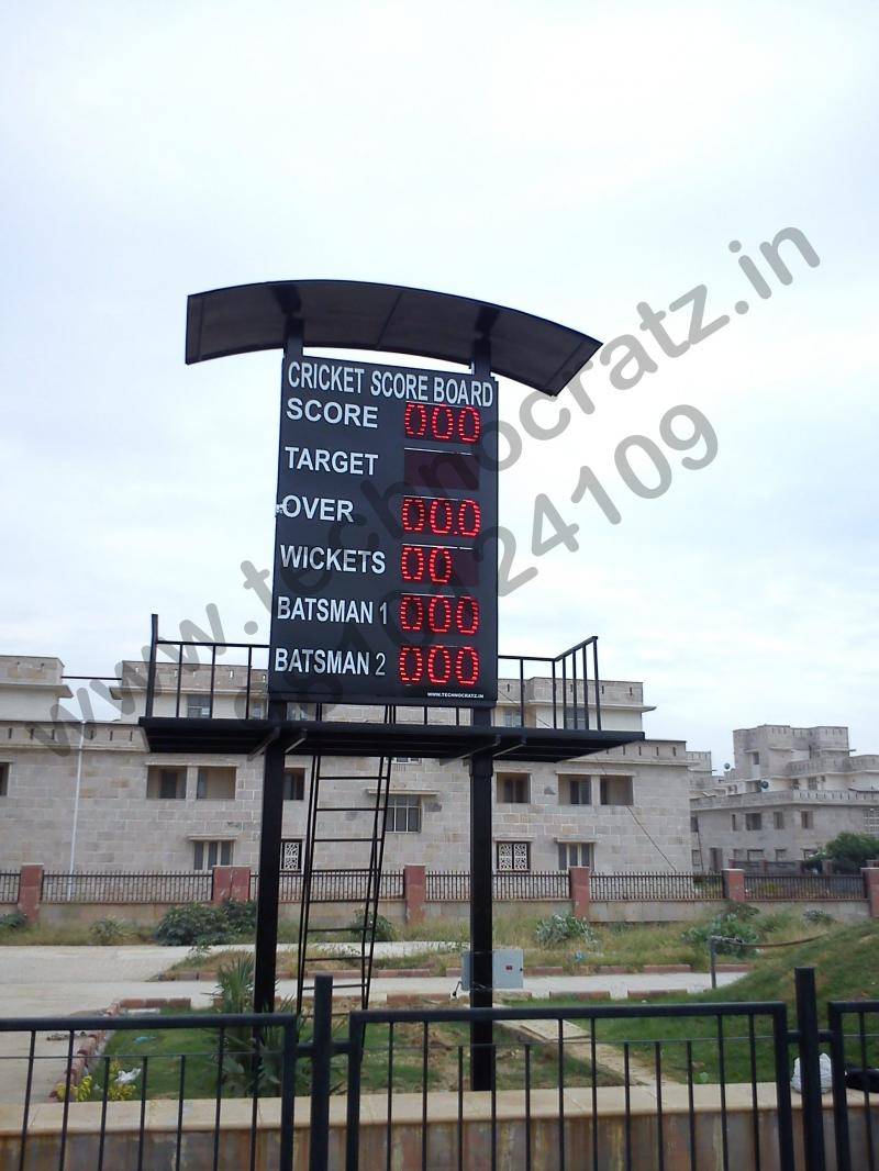 LED CRICKET SCOREBOARD MANUFACTURERS IN DELHI , INDIA. LED SCOREBOARDS,